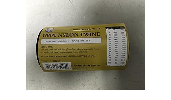 #21 SGT KNOTS Tarred Twine // Bank Line #24 #18 #30 #42 #12 1 Pound #36 #15