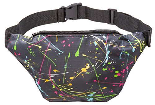 Funny Guy Mugs Paint Splatter Premium Fanny Pack ()
