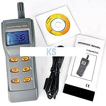 KOHSTAR 4-in-1 Indoor Air Quality IAQ Meter Carbon Dioxide CO2 Carbon Monoxide CO RH Temperature Digital Data Logger Tester