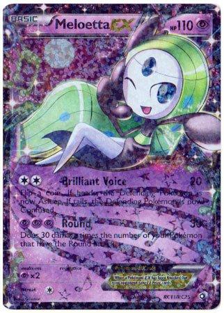 Pokemon - Meloetta-EX (RC11/RC25) - Legendary Treasures (Meloetta Card)