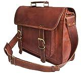 Vintage Crafts Genuine Men's Leather Messenger
