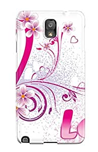 ElsieJM Scratch-free Phone Case For Galaxy Note 3- Retail Packaging - Crush