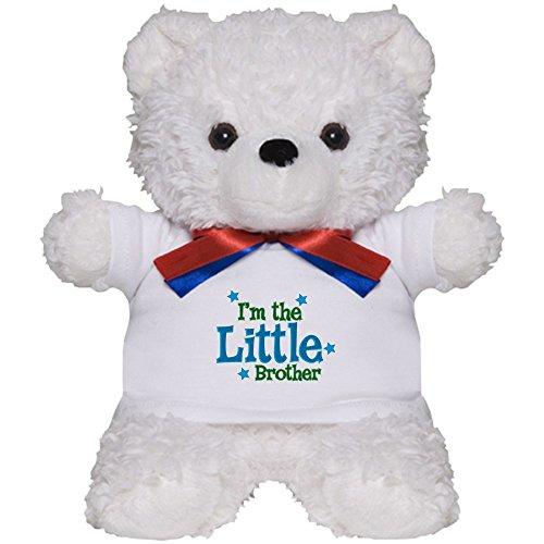 CafePress - Little Brother - Teddy Bear, Plush Stuffed (Little Brother Teddy Bear)