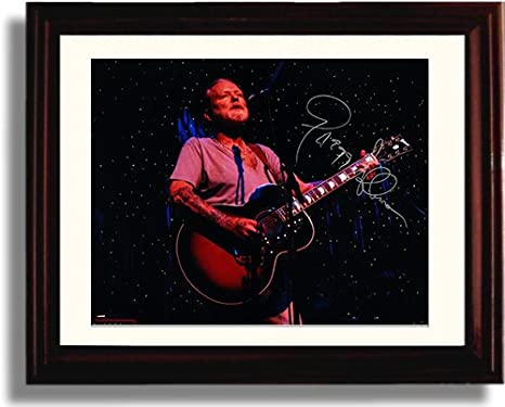 Amazoncom Framed Gregg Allman Autograph Replica Print Posters
