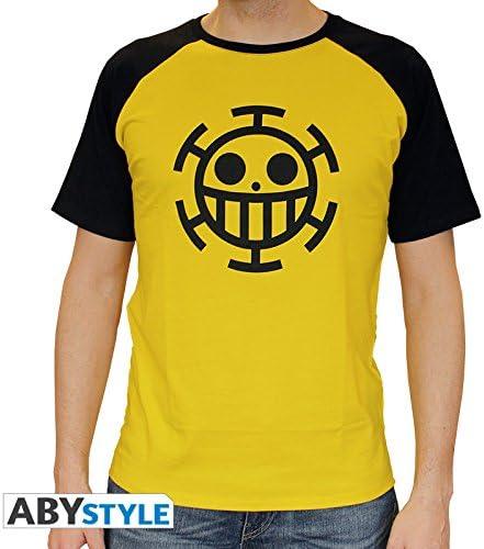 One Piece Trafalgar Law Camiseta amarillo/negro: Amazon.es: Juguetes y juegos