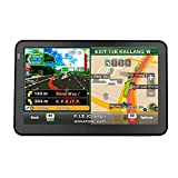 "Quanmin 7""inch HD Screen Hand-held Car GPS Navigation DDR128RAM 8G Memory 800MHZ Fm Window CE 6.0 load With Newest USA Canada Mexico 3D Map"