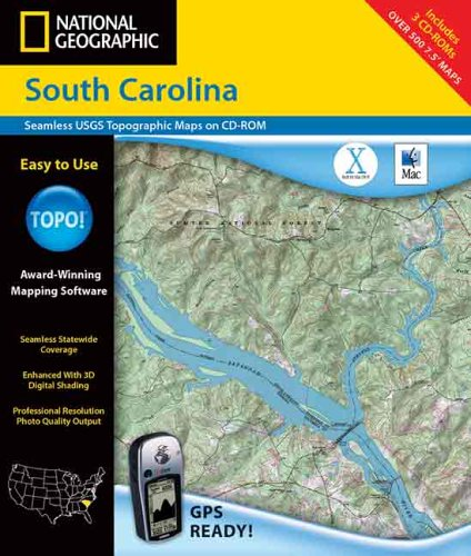 Best topographical maps south carolina to buy in 2019