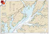 NOAA Chart 12274: Head of Chesapeake Bay 21.00 x 30.17 (SMALL FORMAT WATERPROOF)