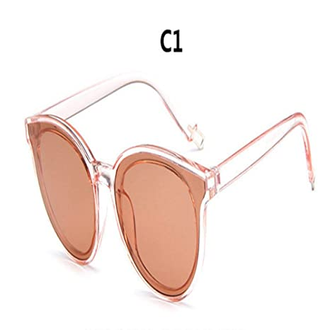 Yangjing-hl Color Top Fashion Cat Eye Sunglasses Gafas de ...