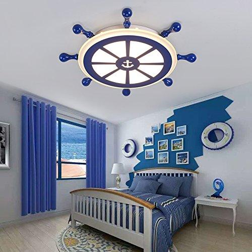 lemumu Estilo mediterráneo habitación niños luz minimalista ...