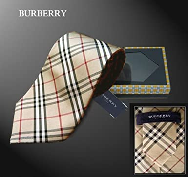 New Burberry Nova Check Silk Tie in Gift Box : necktie gift box - Aboutintivar.Com