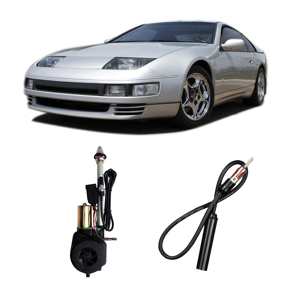 Compatible with Nissan 300ZX 1984-1996 Factory OEM Replacement Radio Stereo Powered Antenna