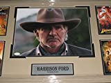 Harrison Ford signed Indiana Jones Framed & Matted 11x14 Photo JSA #H53269