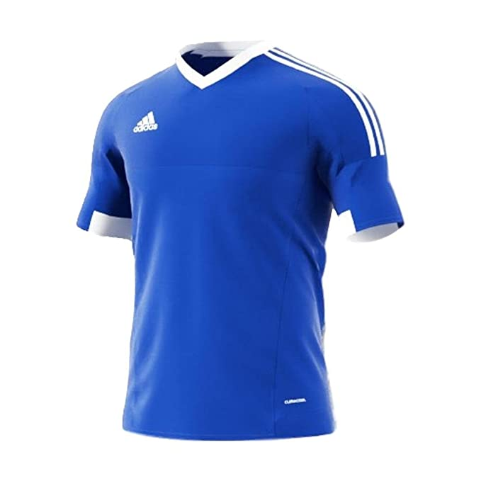 new product 47dad cce71 Amazon.com  adidas Kids  Tiro 15 Soccer Jersey (Red)  Sports   Outdoors