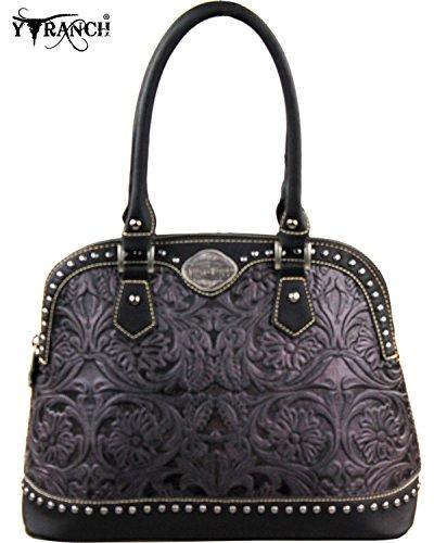 montana-west-womens-trinity-ranch-grey-tooled-design-handbag-black-one-size