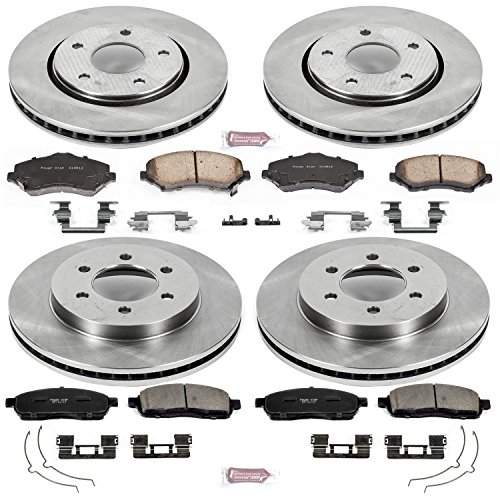 - Autospecialty KOE1944 1-Click OE Replacement Brake Kit