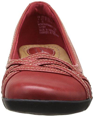 Clarks Ordell Tessa - Bailarinas de cuero mujer Rojo - Rouge (Red Leather)
