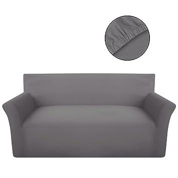 Sofabezüge amazon de vidaxl sofahusse jersey sofabezüge sofabezug universal