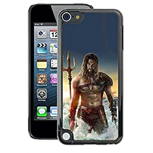 A-type Arte & diseño plástico duro Fundas Cover Cubre Hard Case Cover para Apple iPod Touch 5 (Sexy Man Sea Abs Muscles Poseidon)