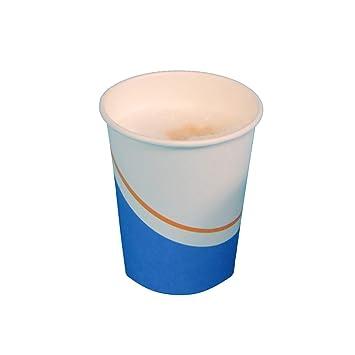 1000 Coffee to go Becher 0,25l Trinkbecher Pappbecher mit Deckel weiß