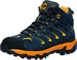 Boy Scouts of America Outdoor Hiking Boots Official Expedition Pro (4, Blue)