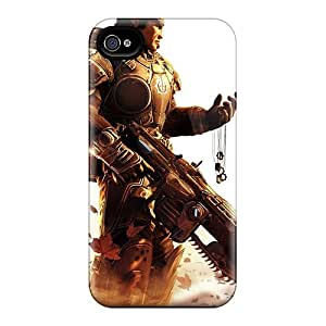 TimeaJoyce Iphone 6 Anti-Scratch Hard Phone Covers Allow Personal Design High-definition Gears Of War Pattern [Mcu4486sUjd]