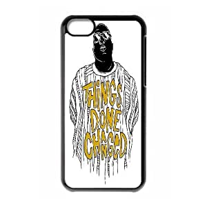 Yearinspace Typography iPhone 5C Cases Typography Things Done Changed For Guys, Cell Phone Case For Iphone 5c, [Black] Kimberly Kurzendoerfer