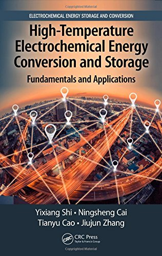 High-Temperature Electrochemical Energy Conversion and Storage: Fundamentals and Applications (Electrochemical Energy Storage and Conversion)-cover