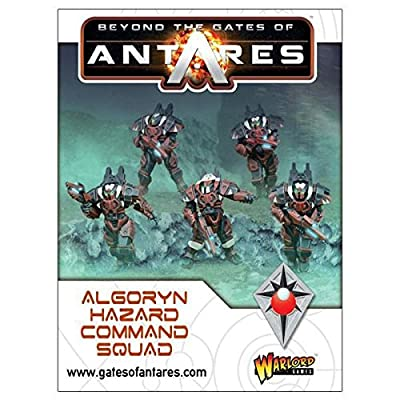 Beyond The Gates of Antares: Algoryn Hazard Command Squad by Warloard Games