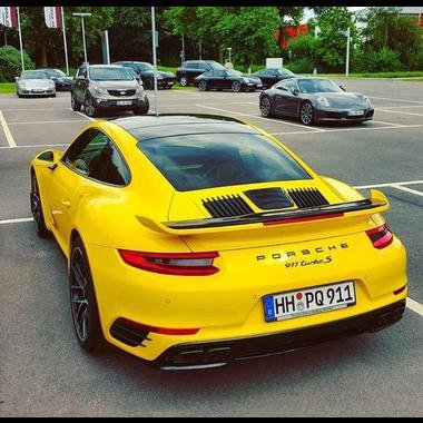 2014-2015 Porsche 991 Turbo S Aero Kit Dynamic Wing Spoiler