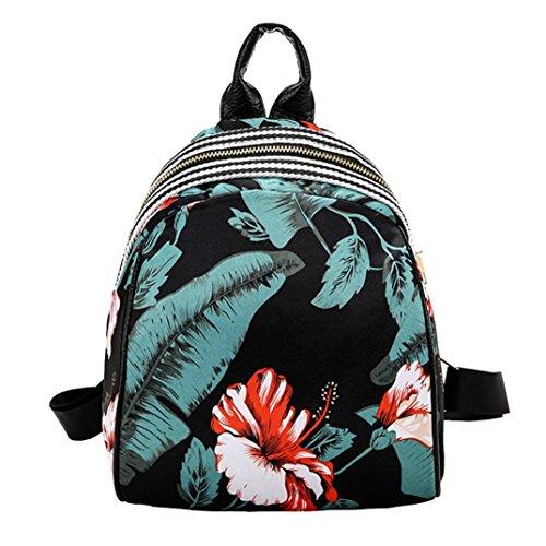 Clearance sale ! Women Girls Print Cute Preppy Style School Bag Travel Backpack Bag ❤️ ZYEE (F, 212710cm)