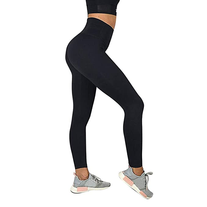 Mosstars Leggings Deporte Mujer Push up Pantalones Yoga de ...