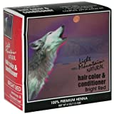 Light Mountain Natural Hair Color & Conditioner, Bright Red, 4 oz (113 g) (Pack of 3)