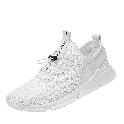 comprare popolare 090af 9a244 P Prettyia Sneakers Bianche Nere Leggere Scarpe Casual Da ...