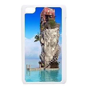 iPod Touch 4 Case White House on Island Bgizx