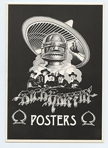 Rick Griffin Program POSTERS Art Limited Edition Exhibition 1976