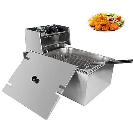 Amazon.com: Equipo de cocina con un cilindro para freidora ...