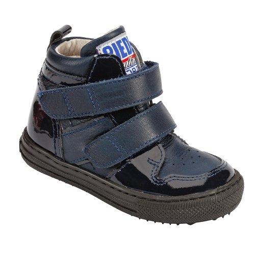 Piedro , Jungen Stiefel, Blau - blau - Größe: 25 Extra Wide