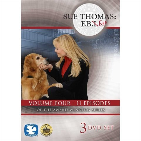 Cicso Independent DVD438 Sue Thomas - F.B.Eye Volume 4 3-DVD Set from Cicso Independent
