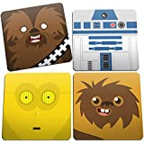 Porta Copos Star Wars Faces