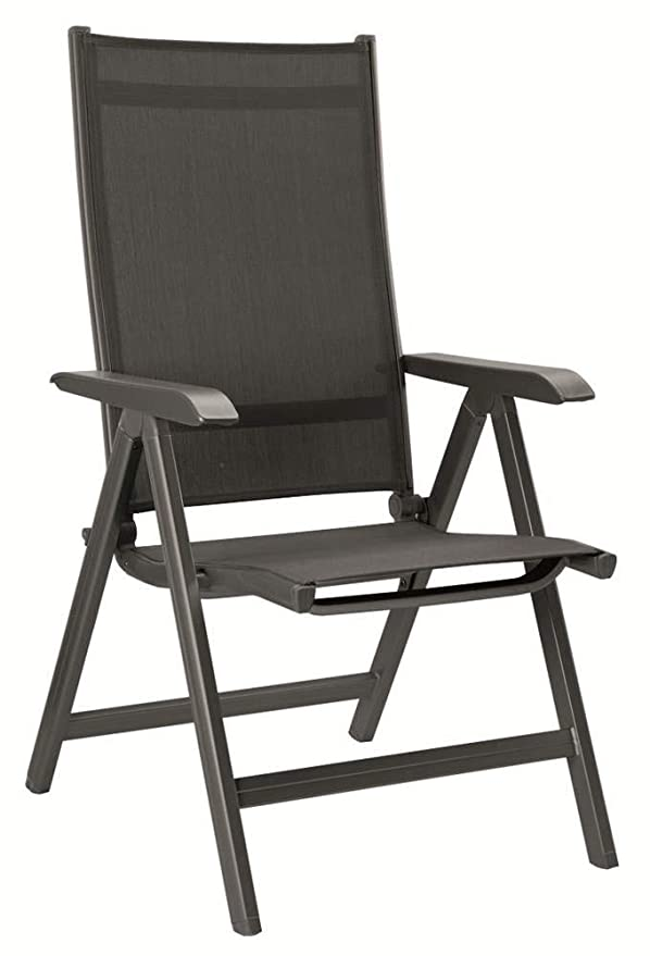 Amazon.com: Kettler Basic Plus – Silla plegable, color gris ...