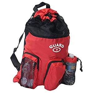 Adoretex Guard Mesh Equipment Backpack, Free Whistle and Lanyard