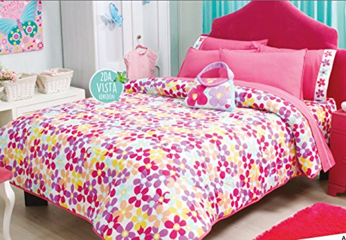 Pretty Collection Little Mermaid Reversible Comforter Set Full