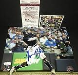 Keon Broxton Milwaukee Brewers Autographed Signed 8x10 JSA WITNESS COA Horizontal