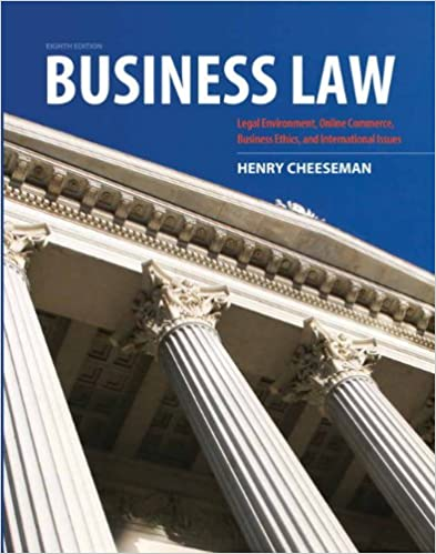 Business law kindle edition by henry r cheeseman professional business law kindle edition by henry r cheeseman professional technical kindle ebooks amazon fandeluxe Gallery
