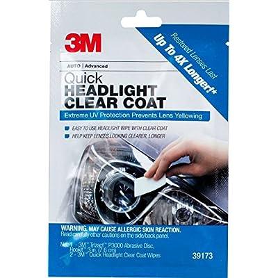 3M Quick Headlight Clear Coat, 39173: Garden & Outdoor