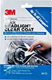 3M 1 Pack Quick Headlight Clear Coat, 39173