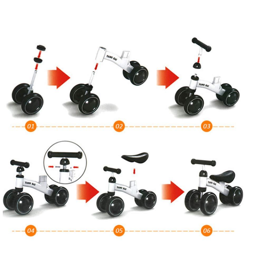 Haodan electronics Laufräder DREI Balance Rad Kinder Balance DREI Bikes Roller Baby Walker Infant 1-3years Roller Kein Fußpedal Driving Bike Geschenk für Kinder 1c976b
