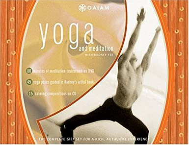 Amazon.com: Yoga and Meditation with Rodney Yee (DVD, Book ...