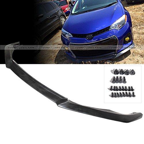 2014 - 2016 Toyota Corlla S Front Body Bumper Lip Spoiler Kit PU (Spoiler For Toyota Corolla compare prices)